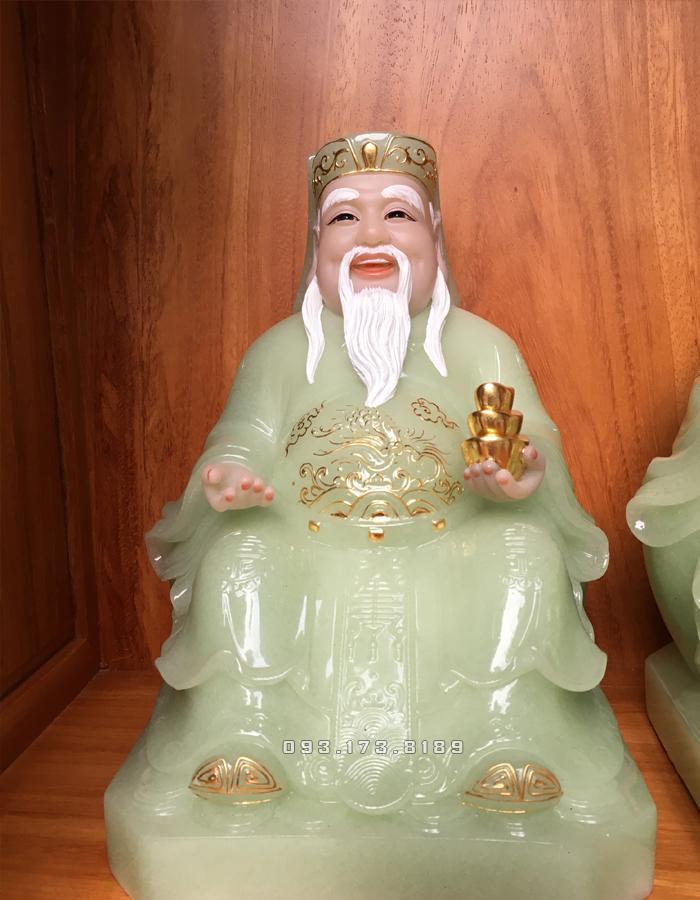 tượng ông địa bằng đá xanh ngọc đẹp nhất