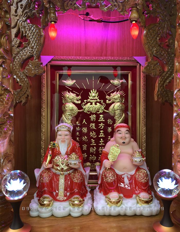 Bàn thờ Ông Đia Thần Tài thường được đặt ở phương vị cung Thiên Lộc hoặc cung Quý Nhân
